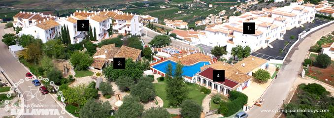 aerea view bellavista