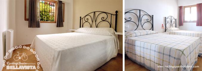 bedrooms confort